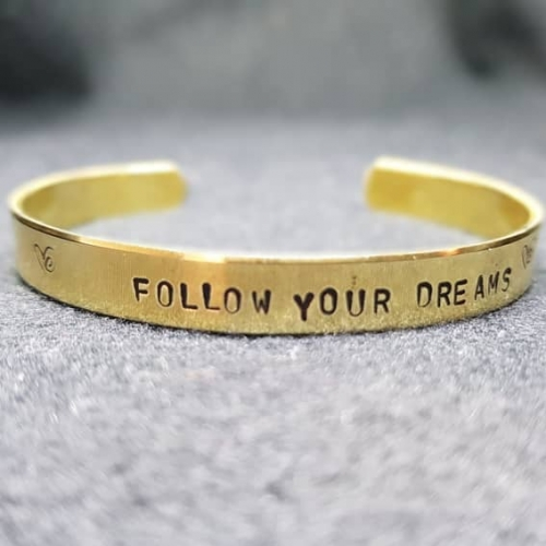Follow ... dreams
